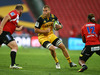 Brad Shields of the Hurricanes during their round 10 Super Rugby match against the Emirates Lions at Emirates Airline Park. Photo / Getty