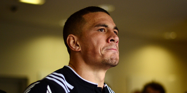 Sonny Bill Williams of New Zealand prepares to take to the field in the the HSBC Paris Sevens. Photo / Getty