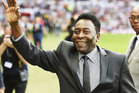 Pele attends Soccer Aid as the Guest of Honour at Old Trafford in Manchester, England. Photo / Getty