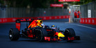 Daniel Ricciardo during the European Formula One Grand Prix at Baku. Photo / Getty Images