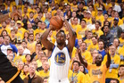 Harrison Barnes shoots the ball against the Cleveland Cavaliers in Game Seven. Photo / Getty Images