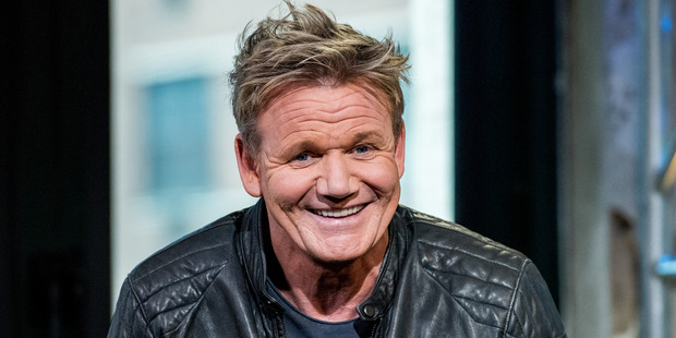 Ramsay was not impressed by being asked about what he'd order for his last meal if he were on death row. Photo / Getty
