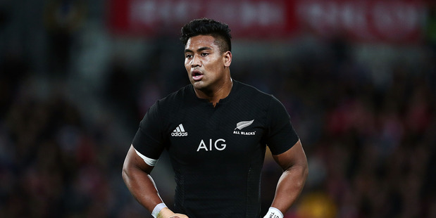 Julian Savea of the All Blacks looks on during the International Test match between the All Blacks and Wales. Photo / Getty