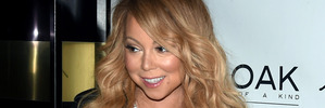 Mariah Carey rocks red carpet in nothing but lingerie