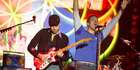 Chris Martin's kids join Coldplay for Glastonbury closer