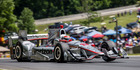 Will Power during the Verizon IndyCar Series KOHLER Grand Prix at Road America. Photo / Getty Images