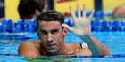 Michael Phelps of the United States reacts after winning the final heat for the Men's 200 Meter Butterfly during Day Four of the 2016 U.S. Olympic Team Swimming Trials. Photo / Getty