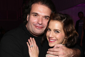 Brittany Murphy and husband, writer Simon Monjack. Photo / Getty Images