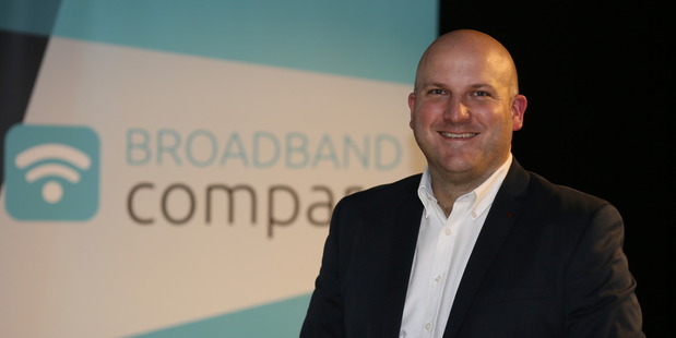 Broadband Compare founder and chief Gavin Male.