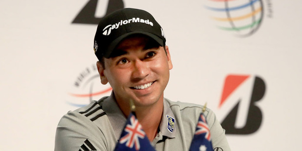 Jason Day of Australia speaks to the media regarding his withdrawal from the Olympic games in Brazil during a press conference. Photo / Getty Images.