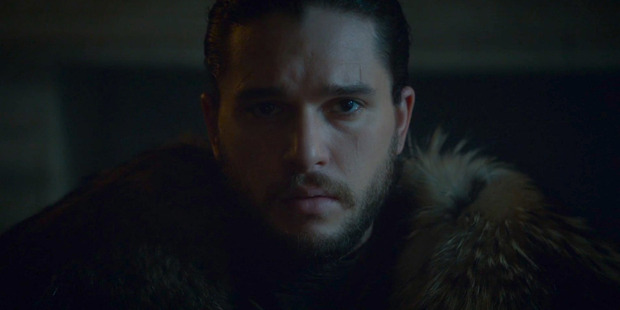 Jon Snow is named King of the North in Game of Thrones.