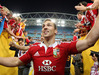 George North of the Lions. Photo / Getty