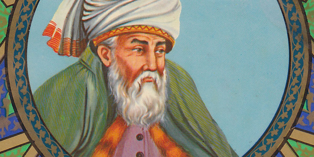 Rumi was a famed poet in the 13th Century.