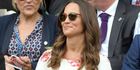 Pippa Middleton attends day one of the Wimbledon Tennis Championships at Wimbledon. Photo / Getty