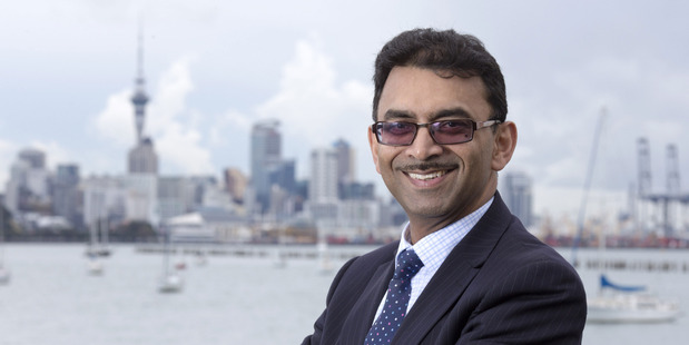 Raveen Jaduram of Watercare, which releases its new plan on Friday.