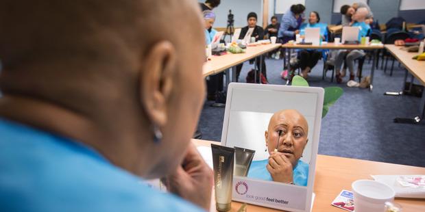 Cancer patient Maria Marama. Photo / Greg Bowker