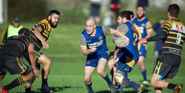 Tauranga Sports fullback Steve Honey in action against Greerton Marist. Photo: ANDREW WARNER