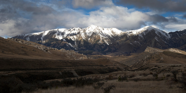 Snow has been scarce in the South Island, as seen in this image of Castle Hill viewed from the Arthur's Pass road earlier this month. Photo / Mark Mitchell