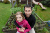Growing Waiariki, Bay of Plenty horticulture tutor Steve Webb is nurturing his 9 year old daughter Ella's green thumb. Photo/George Novak