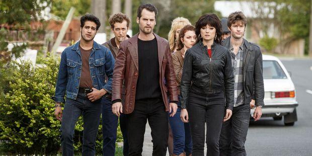 A scene from season two of Westside.