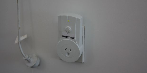 A Switchit device. Photo / Hannah Bartlett