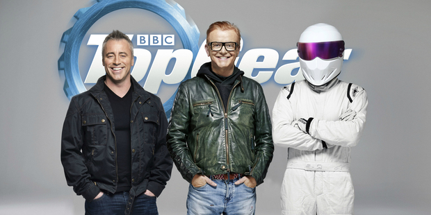 Loading Chris Evans (centre) has allegedly been summoned by the BBC's incoming entertainment head for emergency talks over his bad behaviour. Photo / Supplied