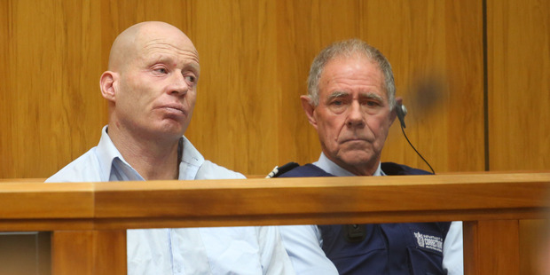 Russell John Tully in court during sentencing. Photo / Dean Kozanic