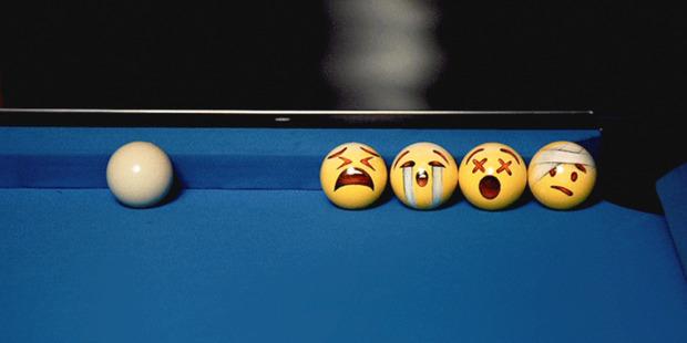 Emoji Pool Set, by Beijing artist Winigreeni. Photo / Supplied