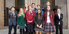 Ten Kiwi students have been selected to travel to France in September 2016 to commemorate the centenary of the Battle of the Somme Young Ambassadors to France. Photo / Supplied