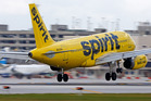 Spirit operated only 68 per cent of its flights on time for the 12 months ended April 2016. Photo / File