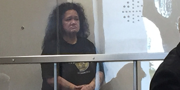 Ofa Manitisa was jailed for 3 years 11 months at North Shore District Court today after pleading guilty to wounding her 55-year-old friend. Photo / Rob Kidd
