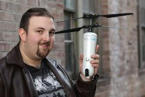 Australian entrepreneur Simon Kantor is the brains behind the ROAM-e drone.