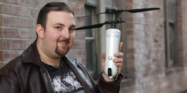 Australian entrepreneur Simon Kantor is the brains behind the ROAM-e drone.