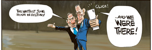 Cartoon: Goverments action on Climate Change