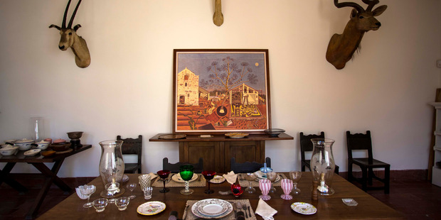 Ernest Hemingway's dining room. Photo / AP
