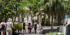 Tourists visit Finca Vigia, home of writer Ernest Hemingway in Havana. Photo / AP