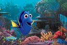 Dory, voiced by Ellen DeGeneres, in a scene from Finding Dory.