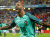 Portugal's Ricardo Quaresma celebrates after scoring during the Euro 2016 round of 16 soccer match between Croatia and Portugal. Photo / AP.