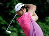 Jason Day, of Australia, tees off on the 14th hole during the second round of the Memorial golf tournament in Dublin, Ohio. Photo / AP.