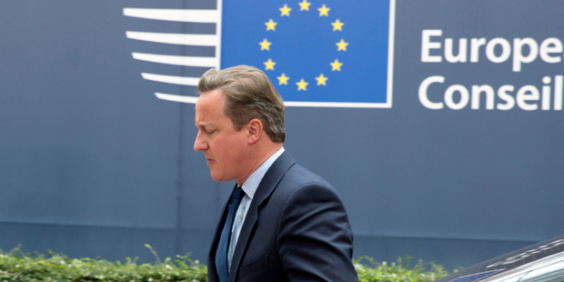 Cameron had said before the vote he would stay and negotiate Britain's exit if necessary, but then decided it was properly a task for his successor, whoever that might be. Photo / AP