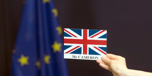Loading British Prime Minister David Cameron attended an EU summit in Brussels today. Photo / AP