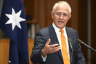 Australian Prime Minister Malcolm Turnbull hopes to still be in the job tomorrow night. Photo / AP