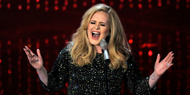 "Adele conquered her fear of Glastonbury, and got ""the best moment of my life"". Photo / AP"