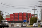 MetroPort Auckland, a Port of Tauranga container facility in Onehunga, is situated near Neilson St and Church St, where the East West Link aims to alleviate traffic congestion. Photo / Supplied