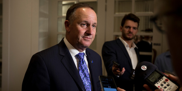 Mr Key stood by his original comments yesterday, saying that full disclosure was required when tax officials asked for it. Photo / Dean Purcell