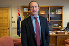 Andrew Little said former PwC chairman John Shewan never sought an apology, only a correction to statements he made. Photo / Mark Mitchell