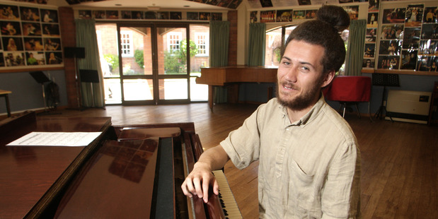 SWEET MUSIC: Pianist Liam Wooding will perform in Whanganui this weekend.