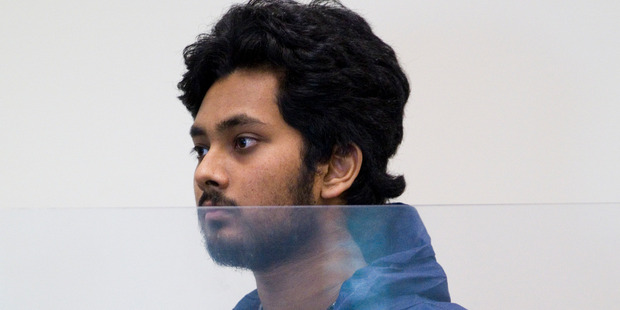 Akshay Anand Chand was making a first appearance charged with the murder of Christie Marceau.