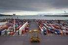 One of the report recommendations will be to extend the port at Auckland 25m into the harbour, sources say. Photo / Richard Robinson