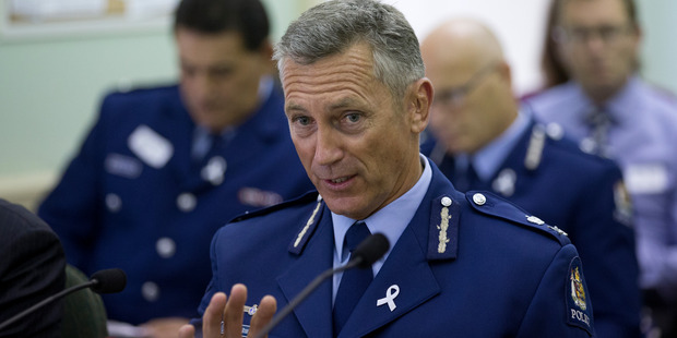 Police Commissioner Mike Bush admitted today Teina Pora was innocent. Photo / Mark Mitchell.